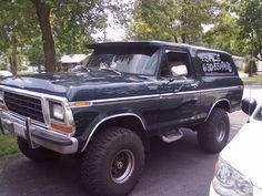 Black Ford Bronco SUV