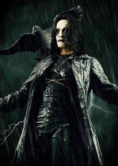 BROTHERTEDD.COM - It Can't Rain All The Time by Benares78 on... The Crow, Brandon Lee, Bruce Lee, Crow Movie, I Movie, Corvo Tattoo, Chica Dark, Thriller, Dark Romance