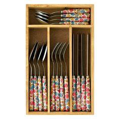 Little Leaves 16 Piece Cutlery Set | Cath Kidston |