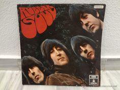 DISCO VINILO LP THE BEATLES RUBBER SOUL - 1966 - 1º EDICION ESPAÑOLA