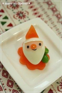 Quail egg santa