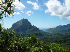 Cruising around French Polynesia