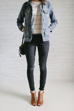 to Create a Capsule Wardrobe How to Create a Capsule Wardrobe . The Everygirl .How to Create a Capsule Wardrobe . The Everygirl . Looks Style, Style Me, Outfit Vestidos, Looks Jeans, Look Fashion, Womens Fashion, Fashion Shoes, Fashion Fashion, Street Fashion