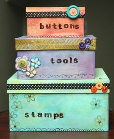Cute And Easy To Make DIY Storage Boxes | Decozilla