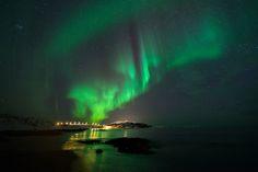 Auroras boreales desde Sommarøy, Noruega. 2 de febrero de 2013 Crédito: Sean Foo