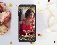 35TH BIRTHDAY Snapchat Geofilter,  Snapchat 35th birthday, Any age, Gold Diamond number Snapchat Filter 35th Birthday, Snapchat Filters, Age, Phone Cases, Number, Diamond, Gold, Diamonds, 35th Anniversary