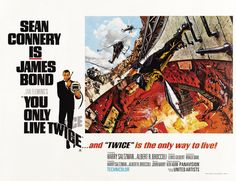 you only live twice poster - Google Search