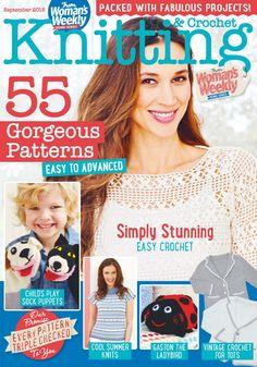Womans Weekly Knitting  Crochet  September 2015 - 轻描淡写 - 轻描淡写