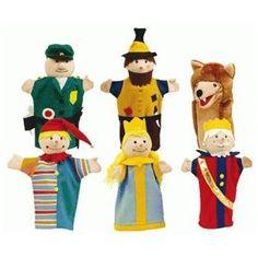 Roba 9712 Jeu de marionnettes gaine (6 pièces)