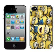 Moi moche et m¨¦chant Despicable me film minion cas adapte iphone 4 et 4s couverture coque rigide de protection (1) case pour la apple i phone