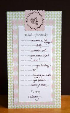 PSA Stamp Camp : Baby Shower Game