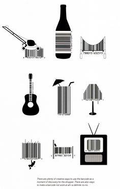 innovative barcode design - Google Search
