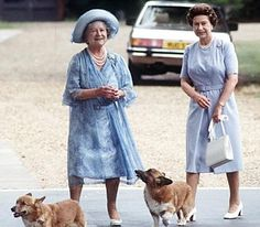 House of Windsor Queen Mother And Princess Margaret
