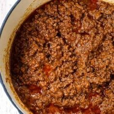 Easy Beef Chili Recipe, Chili Recipes, Hot Dog Chili, Chili Dogs, Easy Rice Recipes, Low Carb Recipes, Sausage And Peppers, Stuffed Peppers, Taco Egg Rolls