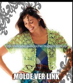 Delicadezas en crochet Gabriela: Chaquetas