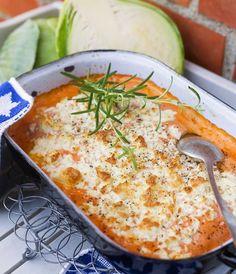 Lax i ugn med citron och fetaost - Mitt kök