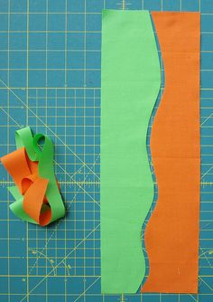 Making Waves - Tutorial: Cutting and Sewing Free Hand Curves