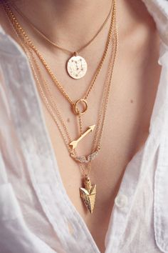 layered arrowheads @ blog.uncovet.com