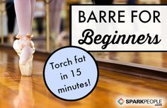 Total-Body Barre Workout via @SparkPeople