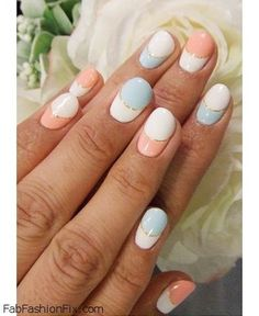 Nails: Pastel nails trend and inspirations | Fab Fashion Fix