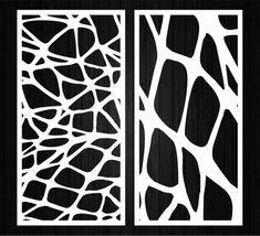 Laser Cut Screens, Laser Cut Panels, Room Divider Screen, Room Screen, Plasma Cutter Art, Geometric Furniture, Laser Cut Stencils, Steel Art, Wood Panel Walls