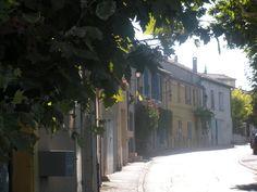 Provence: Street in Puyloubier, France (Photo: Sarah Sundin, July 2011)