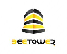 Bee Tower Logo Design
