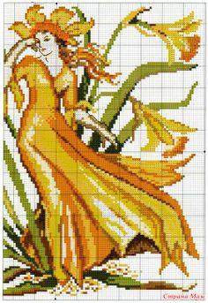 yellow lady