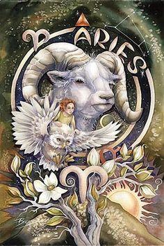 Paper - Signe astrologique Bélier - Aries by Jody Bergsma Aries Taurus Cusp, Aries Astrology, Zodiac Signs Aries, Aries Horoscope, Zodiac Art, Aries Quotes, Aries Sign, Aquarius, Arte Aries
