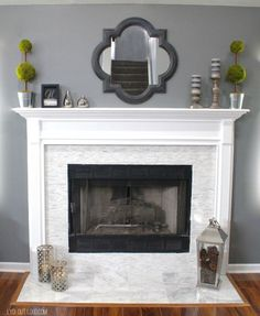 9 Limitless Tips AND Tricks: Fake Fireplace Heater rectangle fireplace with tv above.Mobile Home Fireplace Makeover fireplace classic couch. Fireplace Update, Fireplace Remodel, Brick Fireplace, Fireplace Surrounds, Fireplace Design, Fireplace Ideas, Victorian Fireplace, Renovate Fireplace, Decorating Fireplace Mantels