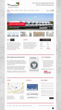 Web Design & Development for Premium Halal