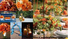 Colores para la decoración de bodas Verano 2013 http://fianceebodas.com/2013/02/colores-para-la-decoracion-de-bodas-verano-2013/
