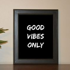 No negativity here, sorry! Printable Quote - Shop now on Etsy (accepting custom request) Printable Quotes, Good Vibes Only, Shop Now, Printables, How To Plan, Instagram Posts, Etsy, Shopping, Print Templates