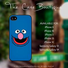 Grover  Sesame Street Case iPhone 4 4S 5 & by TheCaseBoutiqueEtsy, $14.99