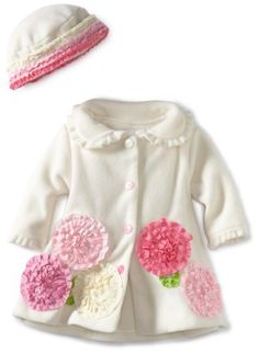 Bonnie Baby-girls Newborn Fleece Coat and Hat Set, Ivory, 3-6 Months Bonnie Baby,http://www.amazon.com/dp/B0083QKTX6/ref=cm_sw_r_pi_dp_xcQRrbC7C01B4BAE