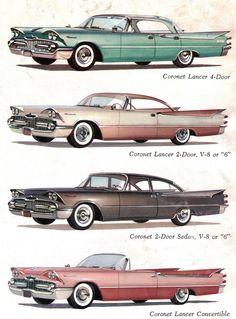 1959 Dodge Coronet Range