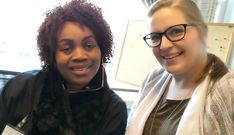 Renae, our Caregiver Supervisor, taking a selfie with our new Silver Spring orientee this week!  #VisitingAngels #seniorcare #eldercare #homecare #Maryland