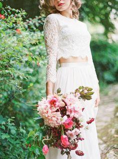 bold brides who didn't wear wedding dresses on their big day