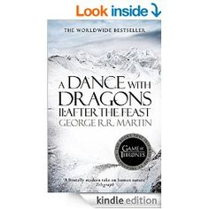 Game of thrones - A dance with dragons. I've lost count of how many more books there are in the series