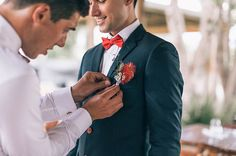 Wedding inspiration. Groom wears Connor shirt. #connorclothing #wedding #inspiration www.connor.com.au
