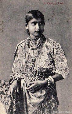Portrait of a Kandyan Lady
