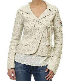 Odd Molly Jacket  LOVE THIS!       ♪ ♪ ... #inspiration_crochet #diy GB