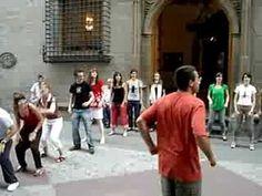 Percusión corporal en movimiento