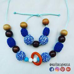 Hacemos los juegos de collar y pulsera de lactancia con tus colores favoritos  . #TalentoVenezolano #Mama #Bebe  #HechoaMano  #Lactancia #Lactanciamaterna #Lactanciaexclusiva #Mamaprimeriza #Collardelactancia #Collaresdelactancia #Collar #Collarmordedor  #Motricidadfina #Crochet #Breastfeeding #Mom #Baby #TeethingNecklace #Necklace #HandMade #Instamom #Collarporteo collar de lactancia  collares de lactancia #NaitaEspinosa @naitaespinosa Naita Espinosa #azul #blue