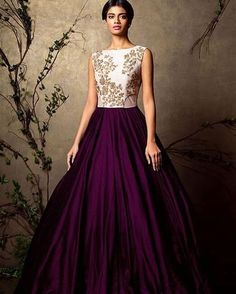 The dark plum color of the skirt #lehenga #indianfashion #indianbride