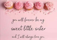 Sister Love, Always Love You, Little Sisters, You And I, Place Cards, Place Card Holders, Sweet, Candy, You And Me