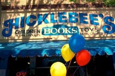 Impressive bookstore in San Jose, CA.    http://www.hicklebees.com/