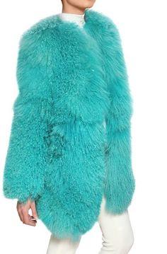 Mongolian Fur Coat - Lyst