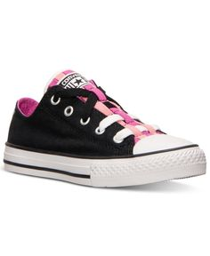 Converse Little Girls' Chuck Taylor All Star Loopholes Casual Sneakers from Finish Line
