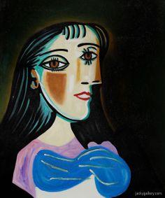Picasso - Portrait Of a Woman